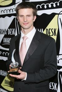 Frederick Weller at the 50th Annual Drama Desk Awards.