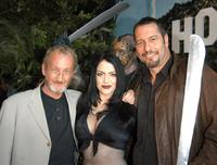 Robert Englund, Ivonna Cadaver and Ken Kirzinger at the DVD release of