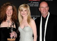 Jill Taylor, Kathryn Morris and John Finn at the Costume Designers Guild Awards.