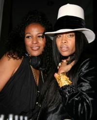 DJ Beverly Bond and Erykah Badu at the 3rd Annual Black Girls Rock! Awards.