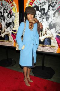 Erykah Badu at the premiere of