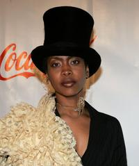Erykah Badu at the Fifth Annual Grand Gala.