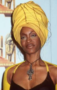 Erykah Badu at the 12th Annual Soul Train Music Awards.