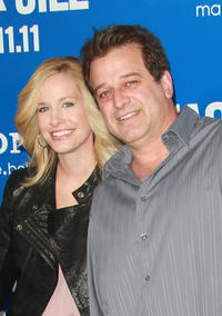 Allen Covert and Guest at the California premiere of
