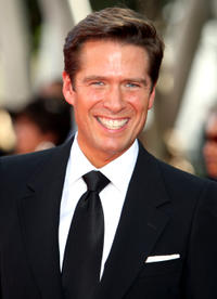 Alexis Denisof at the 61st Primetime Emmy Awards in California.