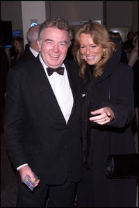 Albert Finney and his wife at the BAFTA Awards.