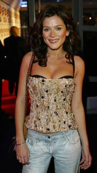 Anna Friel at the Brit Awards.