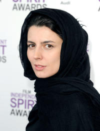 Leila Hatami at the 2012 Film Independent Spirit Awards in California.