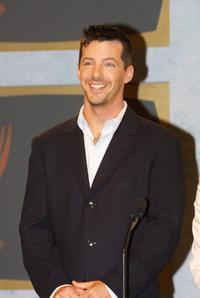 Sean Hayes at the 53rd Annual Primetime Emmy Awards.