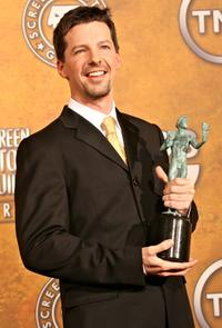 Sean Hayes at the 12th Annual Screen Actors Guild Awards.