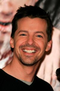 Sean Hayes at the Barne's and Noble to sign copies of the album
