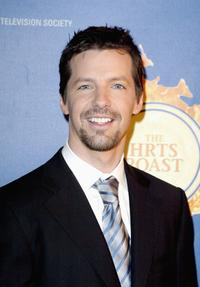 Sean Hayes at the Hollywood Radio and Television Society's 1st Annual Roast Honoring Jeff Zucker.