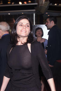 Linda Fiorentino at the screening of