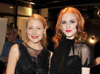 Patricia Clarkson and Evan Rachel Wood at the California premiere of
