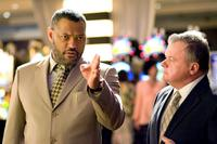Laurence Fishburne as Cole Williams and Jack McGee as Terry in