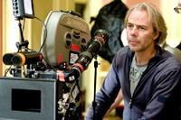 Director Harald Zwart on the set of