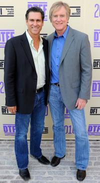 Producer Mark Ciardi and Randall Wallace at the 2010 Doha Tribeca Film Festival.