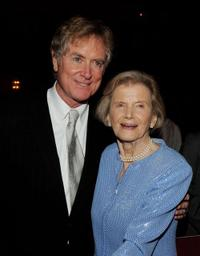 Randall Wallace and Penny Chenery at the after party of the premiere of