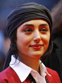 Golshifteh Farahani at the 59th Berlinale Film Festival.