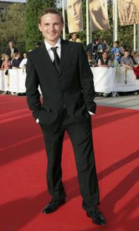 Florian Lukas at the German Film Awards.