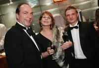 Herbert Knaup, Senta Berger and Florian Lukas at the Berlinale, Berlin's International Film Festival.