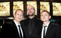 Benno Fuermann, director Philipp Stoelzl and Florian Lukas at the Berlin premiere of