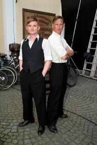 Florian Lukas and Benno Fuermann at the photocall of