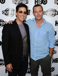 Dan Bucatinksy and Richard R. Ruccolo at the 2011 Outfest Opening Night Gala of