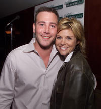Richard R. Ruccolo and Tiffani Thiessen at the 2nd Annual Outfest Screen Idol Awards in California.