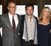 Director/co-writer Jonathan Parker, Eion Bailey and Marley Shelton at the California premiere of