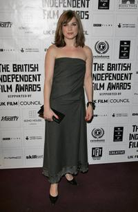 Eva Birthistle at the British Independent Film Awards.