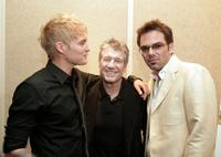 Toby Hemingway, Fred Ward and Billy Burke at the premiere of