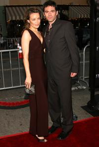 Billy Burke and his guest at the premiere of