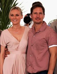 Diane Kruger and Benno Furmann at the photocall of