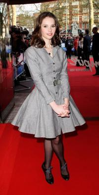 Felicity Jones at the UK premiere of