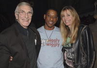 Martin Landau, Orlando Jones and Guest at the ABC Winter Press Tour All Star Party.