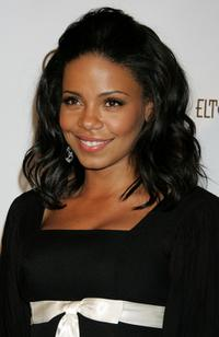 Sanaa Lathan at the 14th Annual Elton John Academy Awards viewing party.