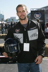 Paul Walker at the 3rd Annual Cadillac Super Bowl Grand Prix.