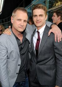 Clint Culpepper and Hayden Christensen at the California premiere of