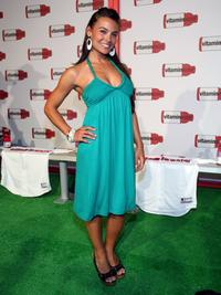 Krista Allen at the Vitaminwater's MLB All-Star week celebration.