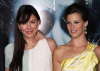 Krista Allen and Haley Webb at the California premiere of