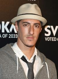 Eric Balfour at the Svedka Vodka's Inauguration Soiree.