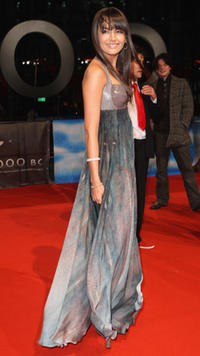 Actress Camilla Belle at the Berlin premiere of