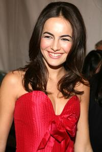 Camilla Belle at the Red Dress Fall 2007 fashion show during the Mercedes-Benz Fashion Week.
