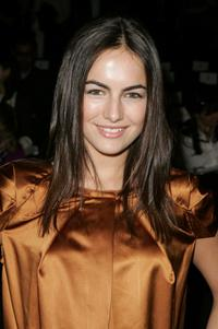 Camilla Belle at the Joanna Mastroiani Fall 2007 fashion show during the Mercedes-Benz fashion Week.