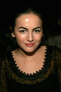 Camilla Belle at the Peter Som Fall 2007 fashion show during the Mercedes-Benz Fashion Week.