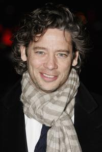 Dexter Fletcher at the world premiere of