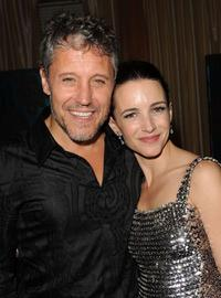 Max Ryan and Kristin Davis at the after party of the New York premiere of