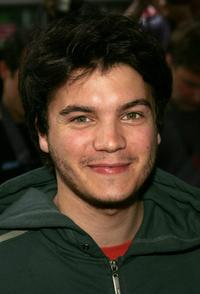 Emile Hirsch at the New York premiere of