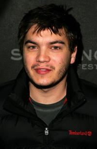 Emile Hirsch at the premiere of